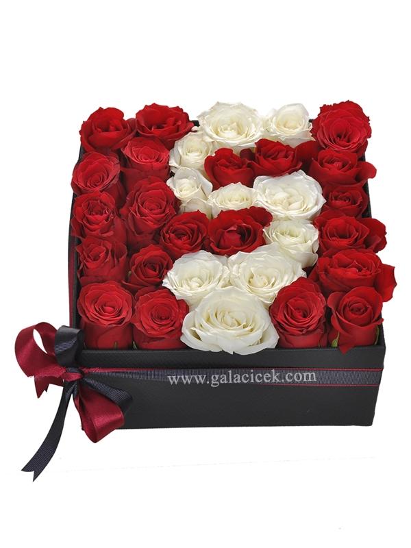 Güllerden baş harfi