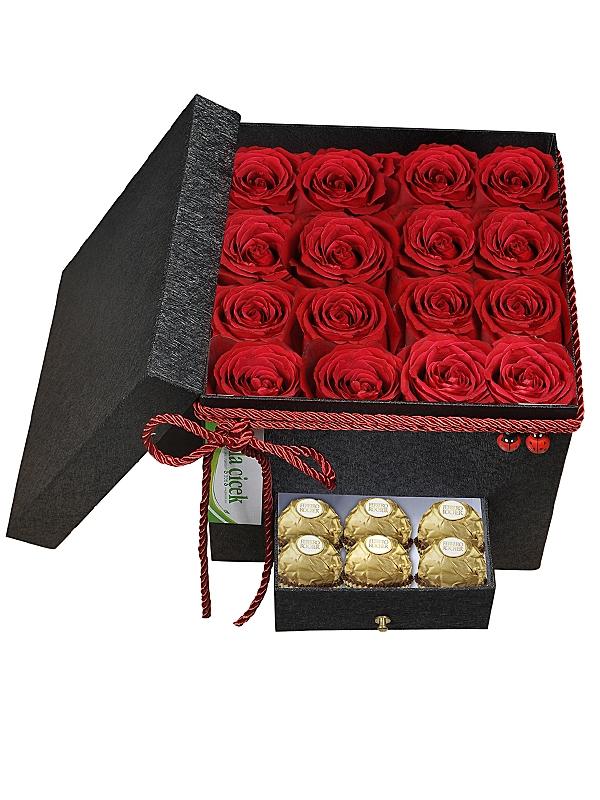 Kutuda Güller ve Çikolata