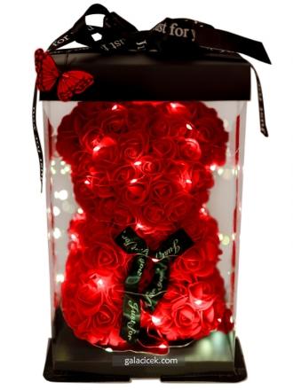 IşıklıTeddy Rose Bear